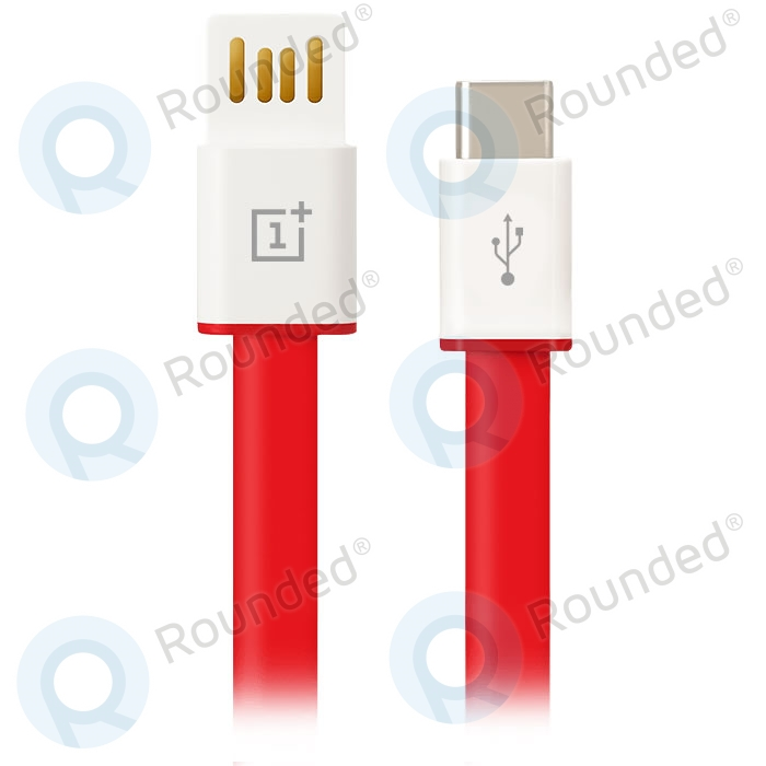 OnePlus USB data cable Type-C 1m red Q/OPLS 102-2014 Q/OPLS 102-2014 image-1