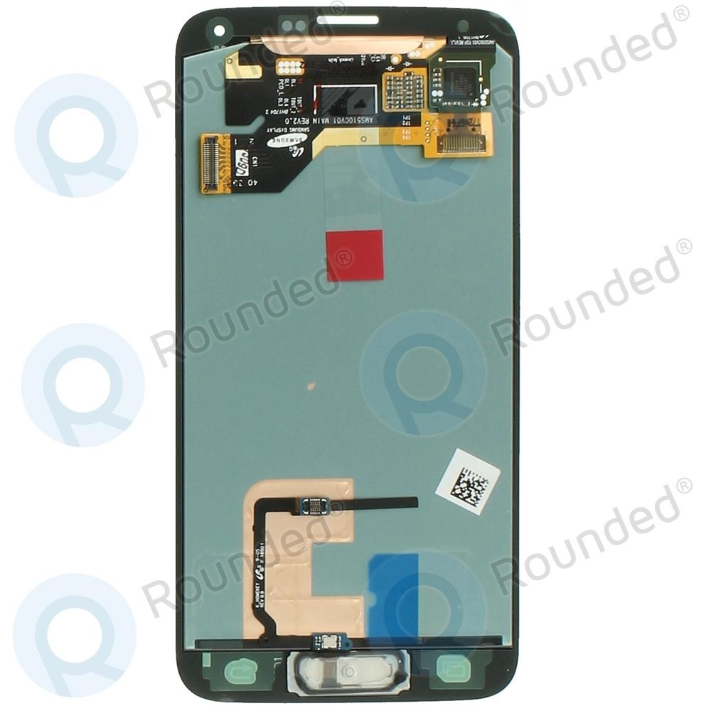 Samsung Galaxy S5 (SM-G900F) Display unit complete black GH97-15959B GH97-15959B image-1
